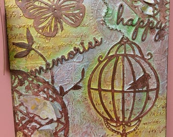 Butterfly Multimedia Artwork