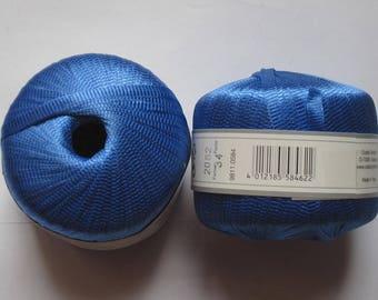 10 balls Ribbon GEDIFRA Azzurro blue 2062