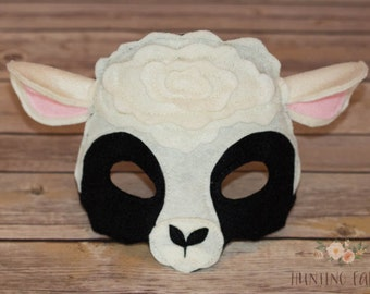 Frack the Black and White Sheep Ewe For Pretend Play