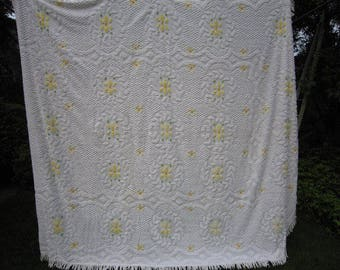 White Chenille Spread