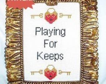 PDF/JPEG Playing For Keeps (Pattern)