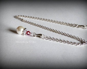 Pearl Wedding Neckalce: Bridesmaid Necklace, Bridesmaid Necklace, Wedding Jewelry, Bridesmaid Jewelry, Jewelry for Brides, Bridal Jewelry