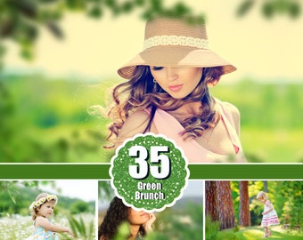 35 Branches Photo Overlays, shooting through branches, tree, green, leaves, spring, summer Photoshop Overlay, Photoshop Overlays, png file