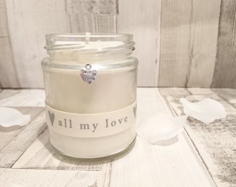 Best Friend (all my love) Scented Candle....Mother's Day