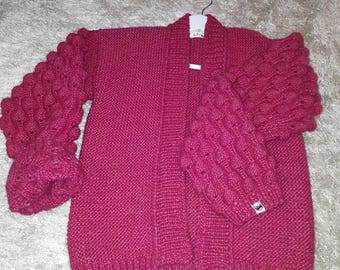Cardigan like rasberry