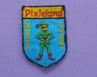 Pixieland Oregon Coast NOS Vintage 1970s Patch