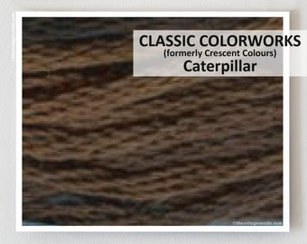 CATERPILLAR hand-dyed embroidery floss Classic Colorworks cross stitch thread at thecottageneedle.com