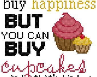 Buy Cupcakes Pattern - PDF Instant Download