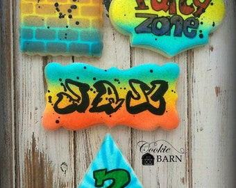Graffiti Party, Break Dancing Party, Hip Hop Party, Birthday Favors