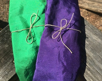 Play silk - 35 in x 35 in - purple
