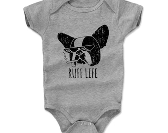 Dog Lovers Baby Clothes | Funny Pug Kids Romper | Ruff Life