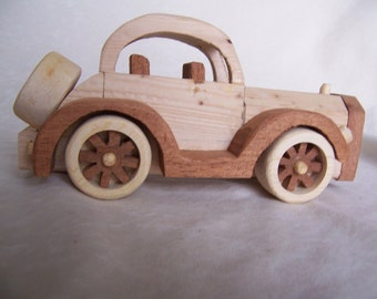 Wood car 1934  Chevy Coupe, Handcrafted for the Kids, Children, Boys and Girls