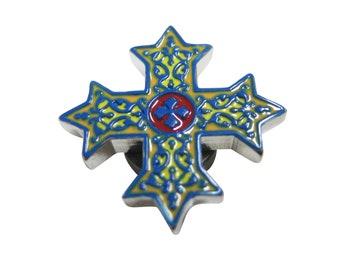 Colorful Celtic Cross Magnet