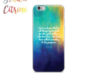 Scripture Phone, Bible Phone Case, Christian iPhone Case, Bible Verse Phone Case, Bible Quote Phone Case, Bible iPhone, Christian Samsung