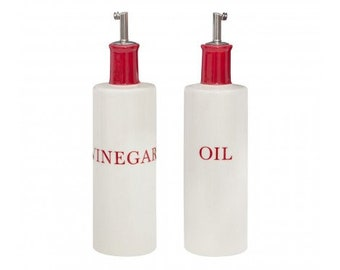 Contemporary Design Oil & Vinegar Set.