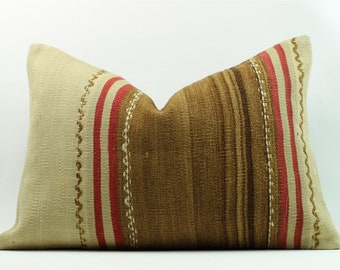 Kilim Pillow, Home Decor, Decorative Pillow, Home Design, Kilim Cushion, Pillows, Home Living, Decorative Pillow
