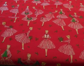 Holiday Hostess - Michael Miller Fabric 1 Yard