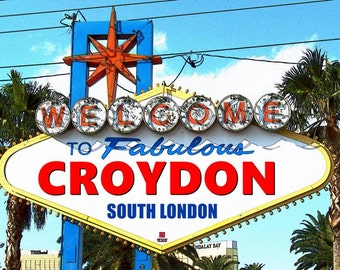 Welcome to Fabulous Croydon print