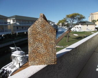Another Animal Print Luggage Tag