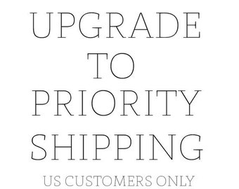 Priority Shipping within the United States