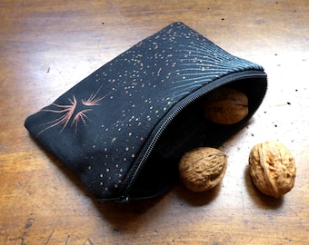 """Pouch 2 - screen printed with love """"Constellation"""""""