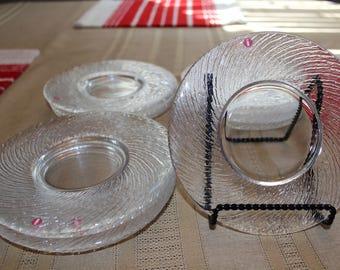 Finnish Iittala Tsaikka saucer  plates by Timo Sarpaneva