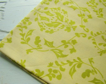 Tina Givens Treetop Fancy Fabric, Cha Cha Green, OOP HTF