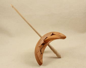 Cut-out Dolphin Turkish Drop Spindle