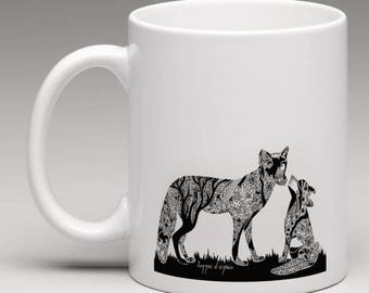 KEEP THE BAN! Fox Mug (charity donation for each purchase)