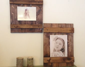 Rustic Picture Frame, Wall Decor, Wood Frame, Distressed Frame, Rustic Wall Decor, Country Photo Frame, Home Decor 8x10, 5x7, or 4x6 Photo