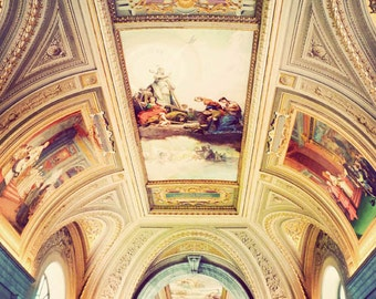 Vatican art, Rome photograph, travel photography, Italy photo, Europe, architecture - Raphael