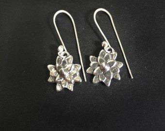 Asian Mum Sterling Silver Dangle Earrings