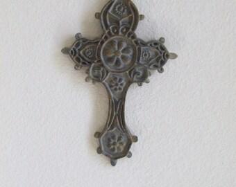 Cross Wall Decor, Unique Cross Decor, Cross Wall Hanging, Ornate Cross, Shabby Chic, Wall Cross, Decorative Cross, Wall Decor, Religious Art