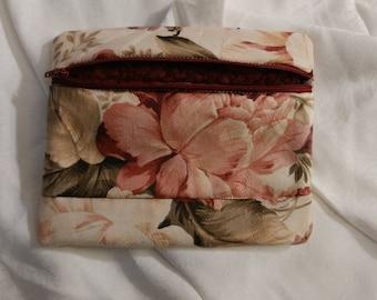 Brocade floral bags