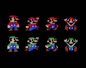 Super Mario and Luigi Magnets