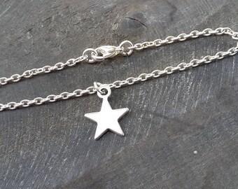 Bracelet star, Silver Star bracelet, Friendship Bracelet, forever love, boho bracelet, bracelet dream catcher, Christmas, bracelet boho