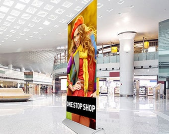 Indoor/Outdoor Banner Stands | Deluxe, Standard, Economy, and Collapsible! Multiple Sizes - Banners not included