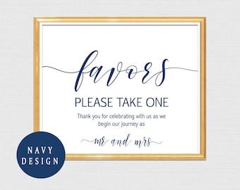 wedding favor sign instant download, Favor sign navy,  Navy Wedding Favor Printable, wedding sign navy, navy wedding favor printable B22