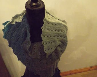 hand made triangle scarf, shawl