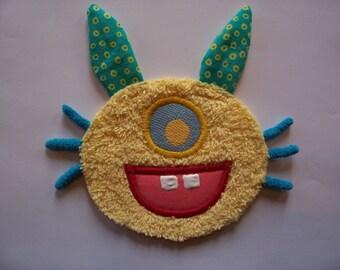Yellow Bunny Foo Foo Patch