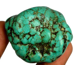 Natural 255.50 Ct. Uncut Arizona Mine Kingman Turquoise High Quality Gemstone Rough