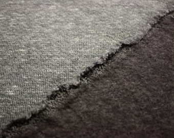 "Heathered Gray Fleece Fabric 58""/60"" Wide Per Yard"