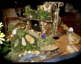 Handmade Fairy House