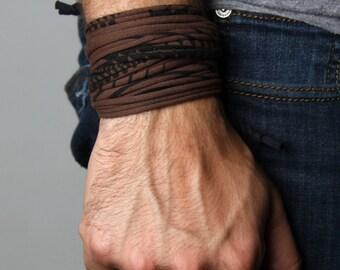 Gift for Men, Boyfriend Gift, Mens Gift, Husband Gift, Gift for Boyfriend, Cuff Bracelet, Mens Bracelet, Festival Clothing, Gift for Husband