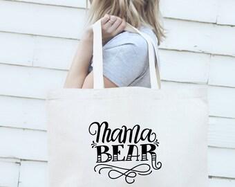 Big Tote bag - Mama bear
