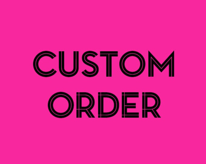 CUSTOM ORDER - Photo Thanks you Cards