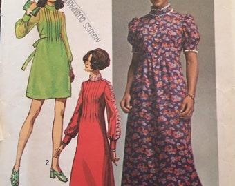 Vintage 1970 Simplicity Pattern #9080 Size 14