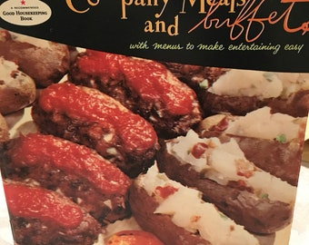 Vintage Good Housekeeping Company Meals and Buffets recipe book