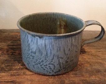 Antique/Vintage Graniteware Cup