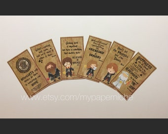 Personal Planner Dashboards/ Personal Planner Dividers/ Harry Potter inspired